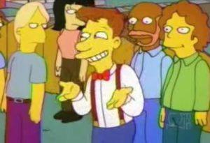 Posiblemente, el hombre más feliz de Springfield
