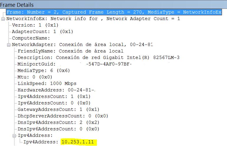 Conocer la dirección IP y otros datos