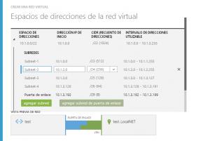 Creación de la Red Virtual (3/3)