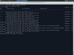 Azure CLI blob list