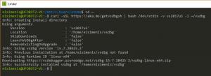 Usar WSL para instalar vsdbg