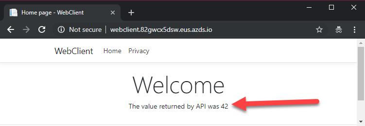 Error en la web (siempre muestra 42)