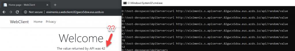 Error de la web aunque la API va bien