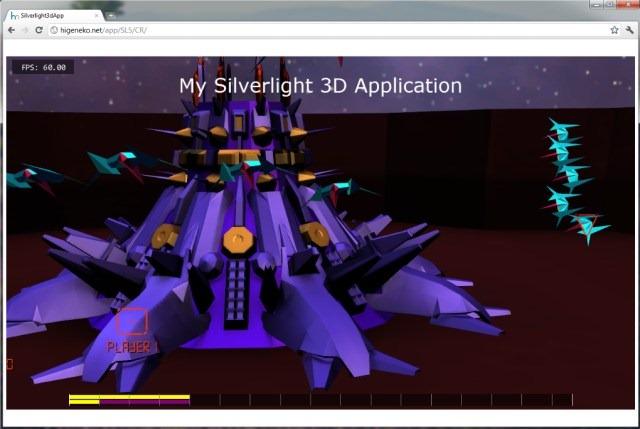 Un juego Silverlight 5 con XNA.