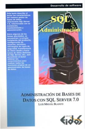 200803PublicacionesLibrosAdministracionSQLServer7