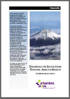 200803PublicacionesLibrosDesarrolloAplicacionesWindowsAspectosBasicos