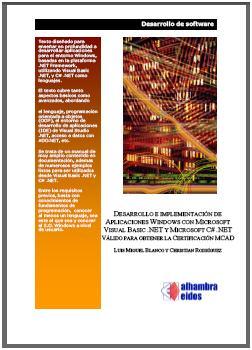 200803PublicacionesLibrosDesarrolloImplemAppWindowsVBNET_CSHARP