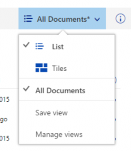 SharePoint Vistas Sin Guardar