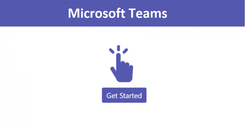 Microsoft Teams Get Started