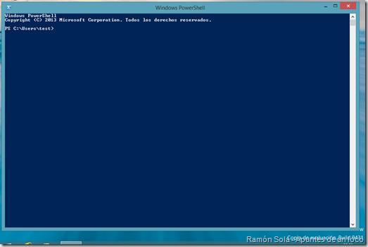 PowerShell en Windows 8.1 Preview
