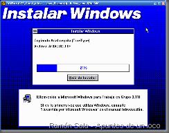 Instalación de Windows 3.11 en DOSBox (modo gráfico)
