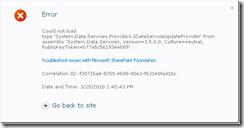 sharepoint2010_error_idataserviceupdateprovider