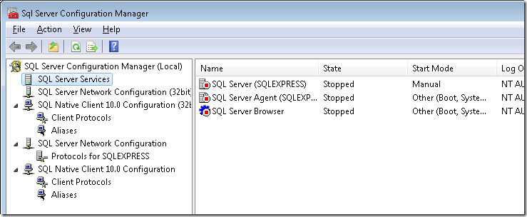 SQLServerConfigurationManager