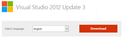Download Visual Studio 2012 Update 3!