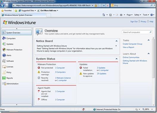 Imagen Windows Intune