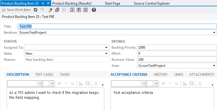 Enabling TFS 2012 new features for upgraded 2010 projects