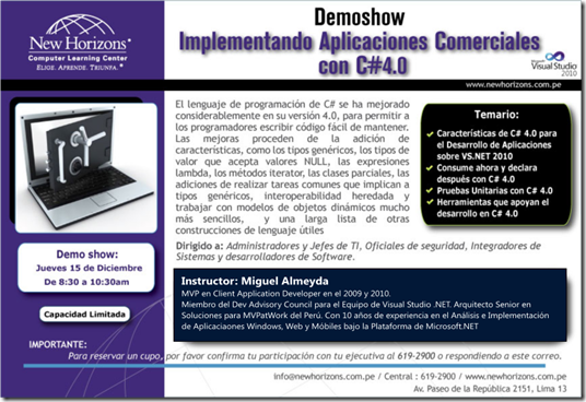 DemoShowVS2010Productividad