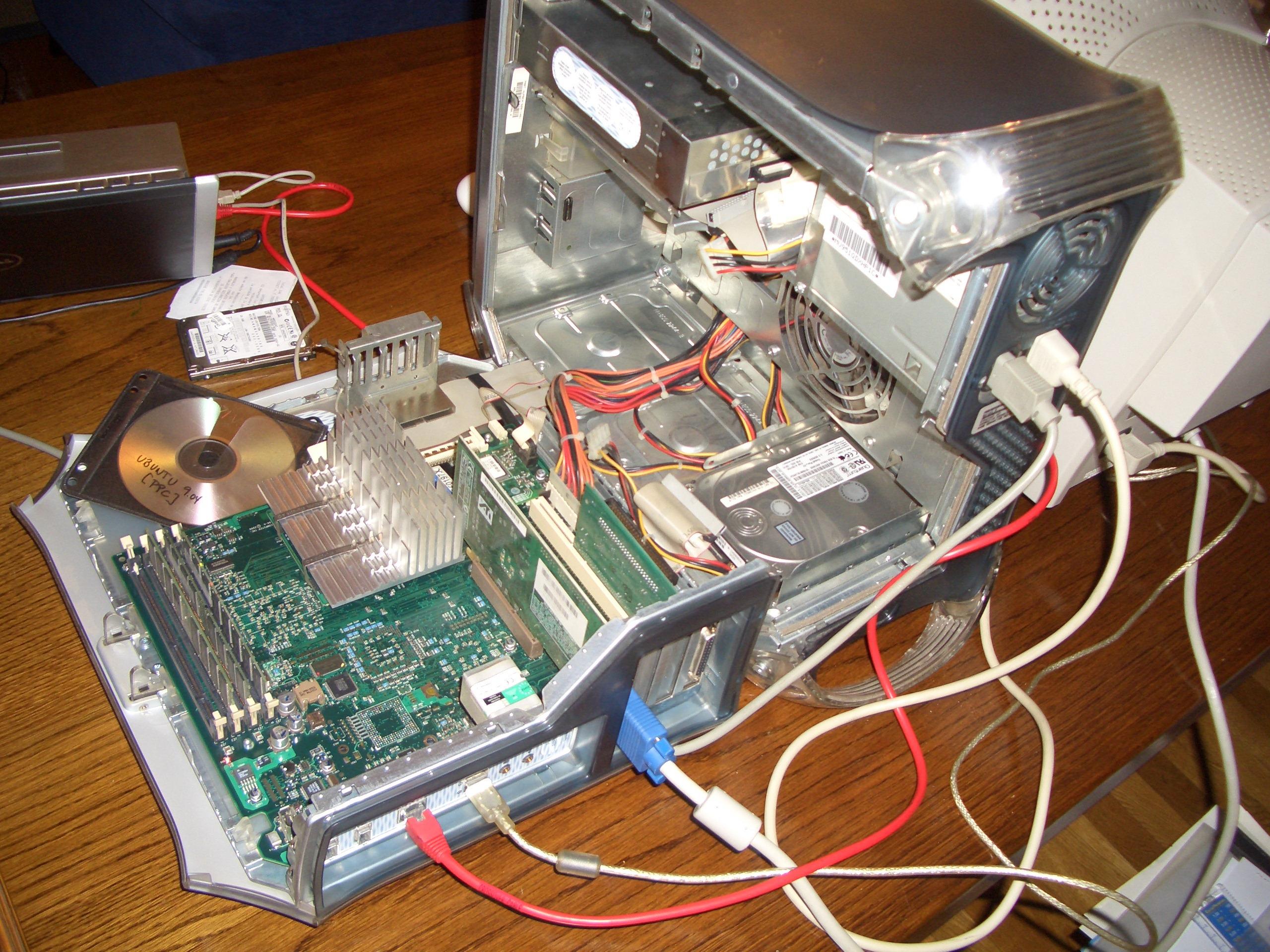 Instalando Ubuntu en un PowerMac G4 – La masa, el ladrillo, la bota ...
