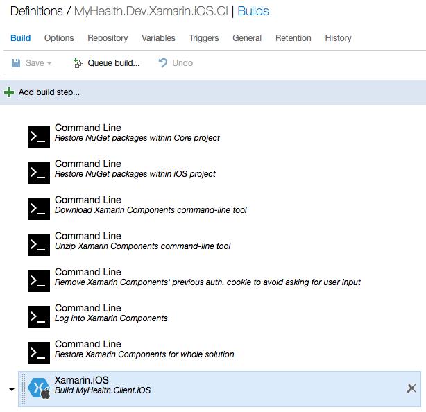 Xamarin.IOS CI Build Definition in VSTS